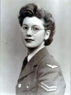 Black and white image of Joan Clarke.